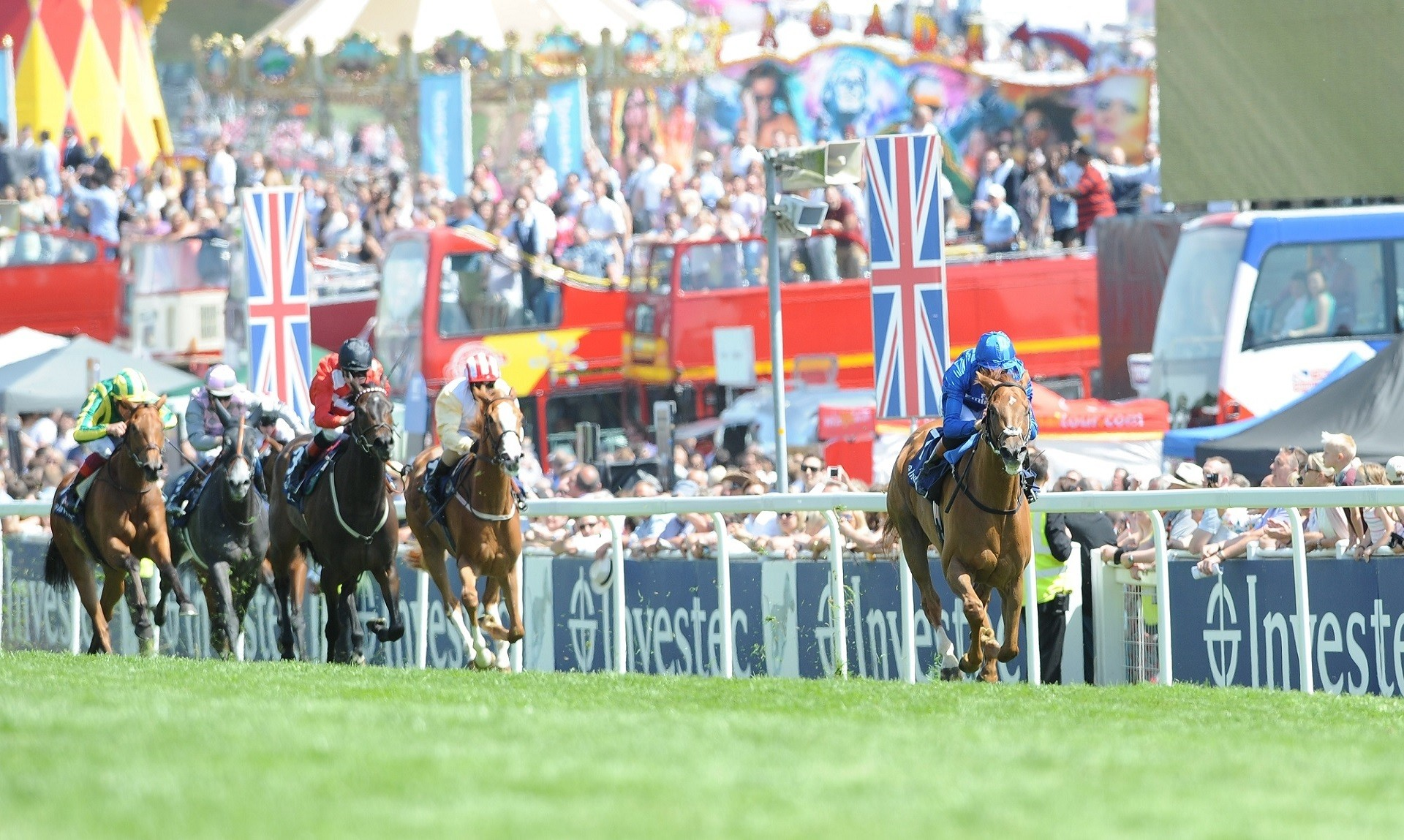 2020 INVESTEC DERBY TO BE BROADCAST LIVE BY FOX SPORTS 1 FOR FIRST TIME