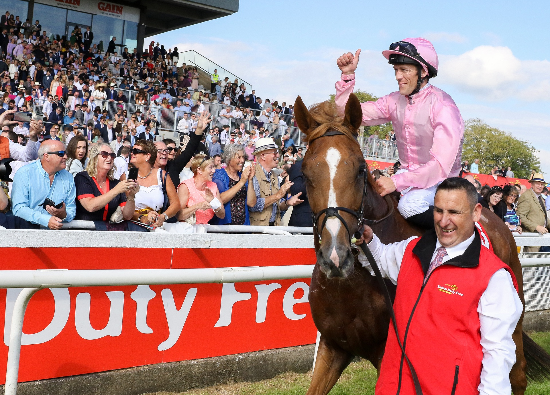DUBAI DUTY FREE IRISH DERBY TO BE SHOWN ON FOX SPORTS IN THE US AND GREEN CHANNEL IN JAPAN FOR THE FIRST TIME