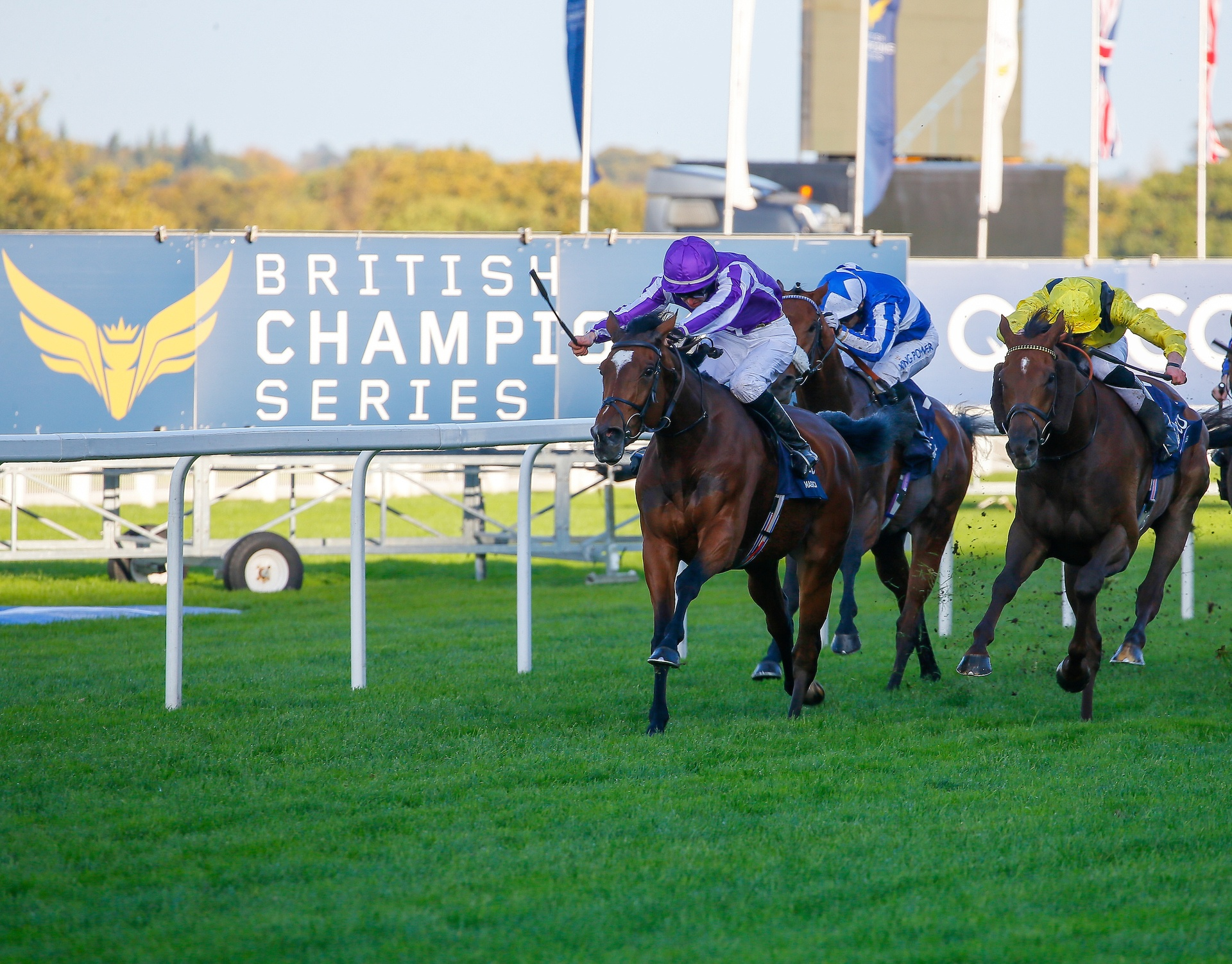 RMG TO DELIVER FULL VIEWING AND BETTING EXPERIENCE FOR QIPCO BRITISH CHAMPIONS DAY